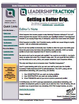Getting a Better Grip   December 2013