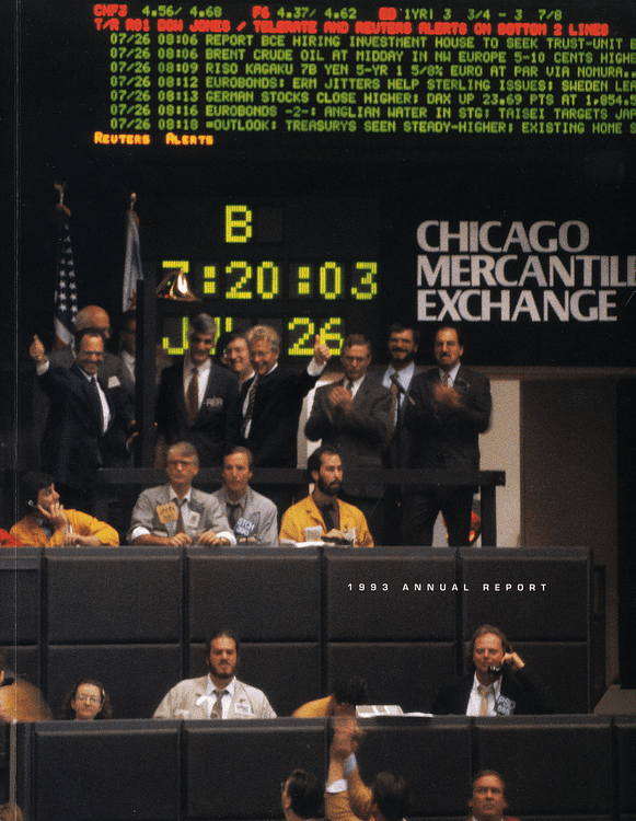 Cover of the 1993 CME Annual Report