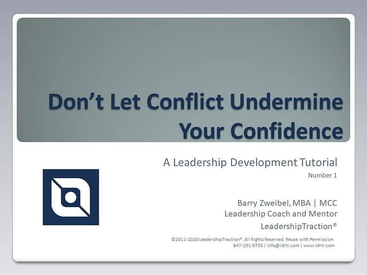 Another Leadershp Tutorial (01) from LeadershipTraction®