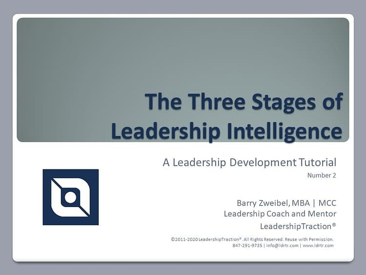 Another Leadershp Tutorial (02) from LeadershipTraction®